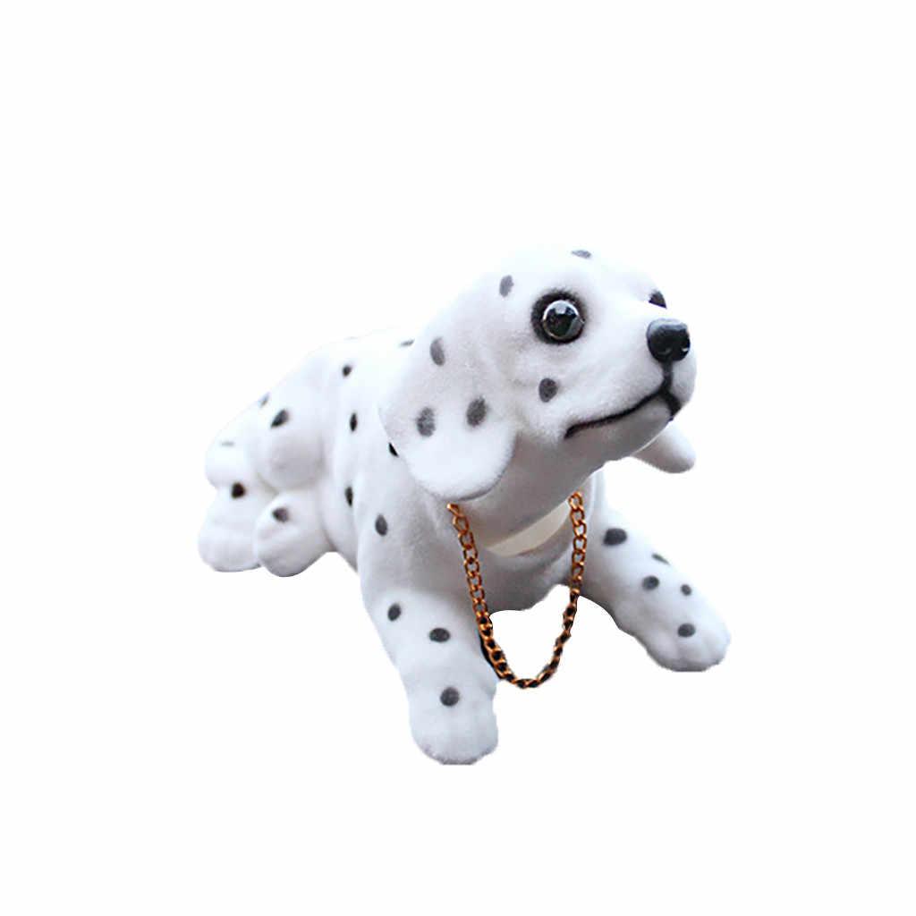 سيارة زخرفة لطيف الإبداعية سيارة دمية يهز رأسه الكلب الحلي سيارة ديكورات داخلية اكسسوارات السيارات الداخلية الديكور
