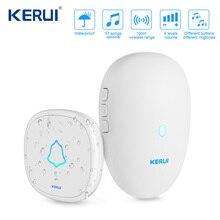 KERUI M521 אלחוטי פעמון 57 מוסיקה שיר 300M עמיד למים כפתור חכם בית דלת בל פעמון טבעת חיצוני פעמון