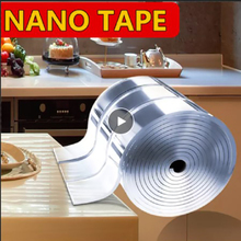 Pu-Gel Tape Nano for Household 1/2/3/5m Adhesive Transparent No-Harm Multifunctional