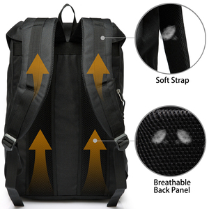 Image 2 - VASCHY  Mens Backpack Student Bag College High School Bags Travel Bag Laptop Backpack bookbag  women backpack