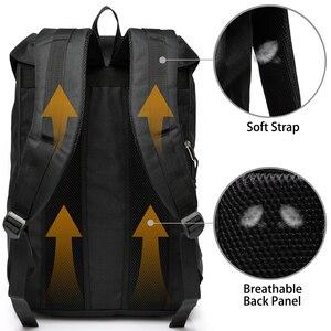 Image 2 - VASCHY 남자 배낭 학생 가방 대학 고등학교 가방 여행 가방 노트북 배낭 bookbag 여자 배낭