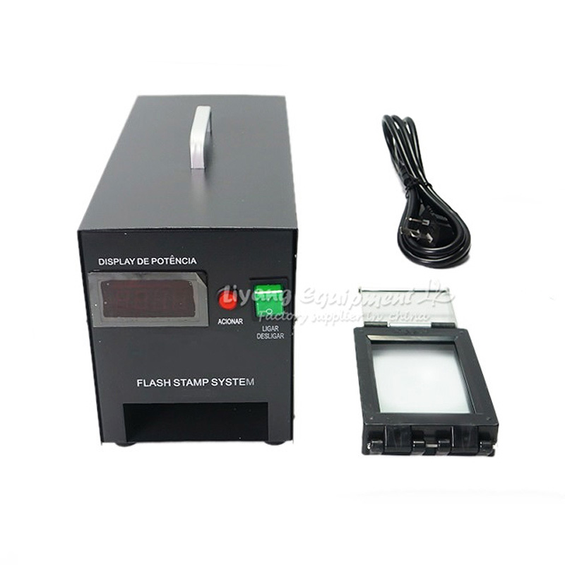 LY P20 Digital Photosensitive PSM Stamp Maker Seal Machine With Free Gift Pack