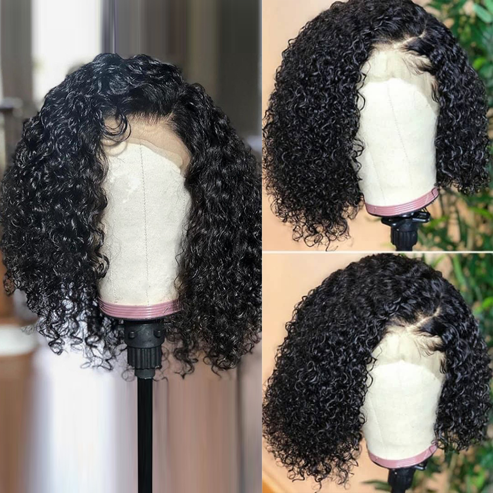 Cexxy-Short-Bob-Lace-Front-Human-Hair-Wigs-Brazilian-Curly-Human-Hair-Wig-For-Black-Women