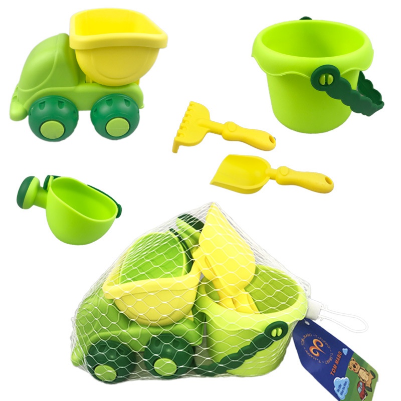 New Beach Toys For Kids Baby Beach Game Toy Children Sandbox Set Kit Summer Toys For Beach Play Sand Water Play Cart Kids Gifts