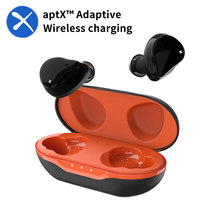 Wireless charging Headphones Wireless Bluetooth Earphones aptX with Qualcomm Chip noise canceling Headset Sports TWS Earbuds