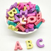 Giocattolo educativo precoce di legno dell'alfabeto della lettera dello scarabeo dei bambini alfabeto Montessori lettere variopinte giocattolo di lingua di alfabeto dei bambini