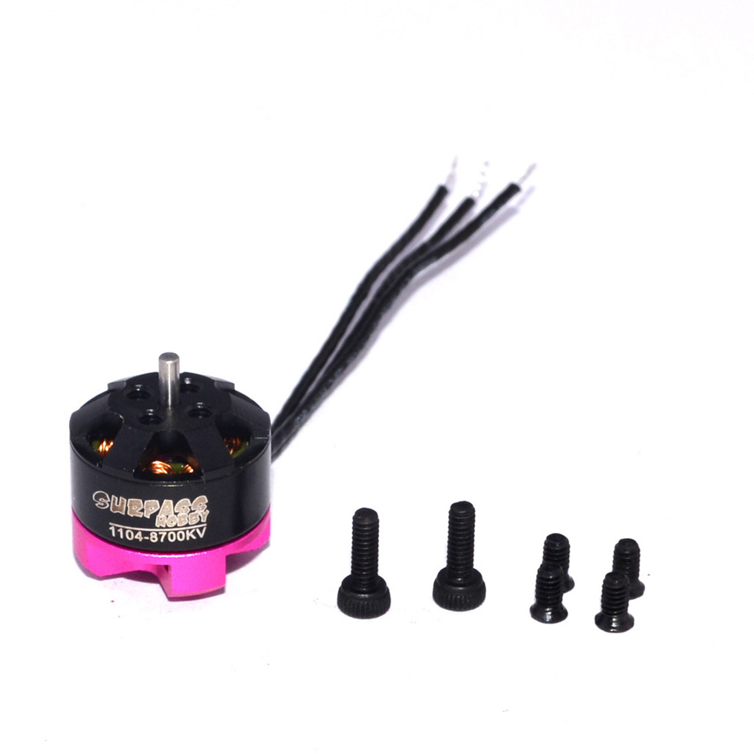 SURPASS HOBBY <font><b>1104</b></font> 8700kv 7000KV 2S Brushless <font><b>Motor</b></font> 12 Pole for RC 80 90 100 110 120 130 indoor FPV Racing Drone Quadcopter image