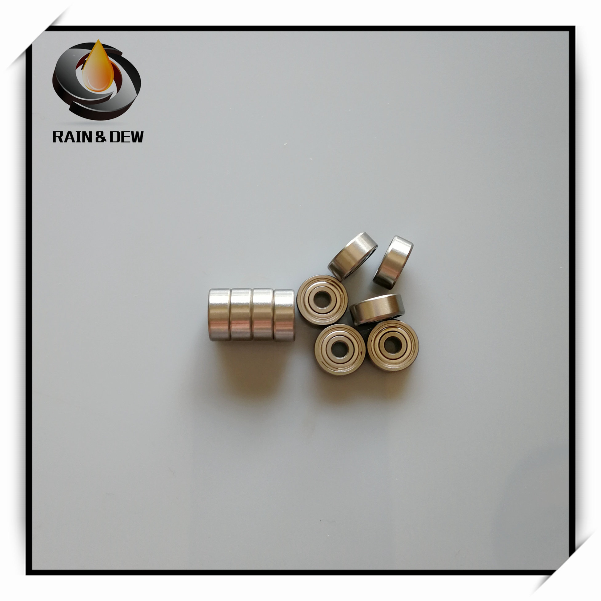 1Pcs  SMR104ZZ CB 4x10x4 Mm ABEC7 MR104  Stainless Steel Hybrid Ceramic Ball Bearing  RC Car Bearing