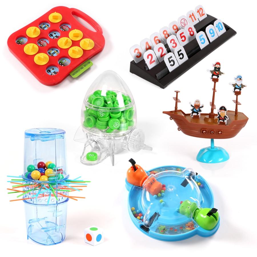 Montessori Mastermind Bingo Game Mini Board Game Traveling Toy For Family Children Educational Intellectual Development Toys