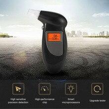 Цифровой ЖК-дисплей с подсветкой, аварийный тестер на алкоголь, профессиональный полицейский алкотестер, паркинг, алкотестер