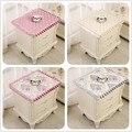 Современное тканевое универсальное накрывающее полотенце Европейский цветочный принцесса ветер прикроватный столик крышка полотенце пыл...