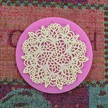 DIY Хлебобулочные кружевное платье с цветочным рисунком моделирование торт форма для выпечки набор для выпечки с шоколадом пресс-форма