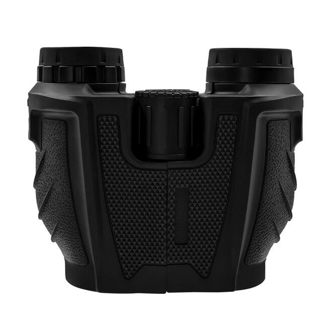 12x25 Compact Binoculars with Low Light Night Vision High Power Waterproof Binocular Professional Portable Binoculars Telescope 2