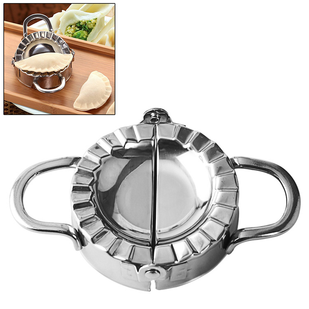 Stainless Steel Dumpling Mold Small and Big Size Dumpling Maker Dumpling Pie Mold for Kitchen Home Kitchen Accessories image