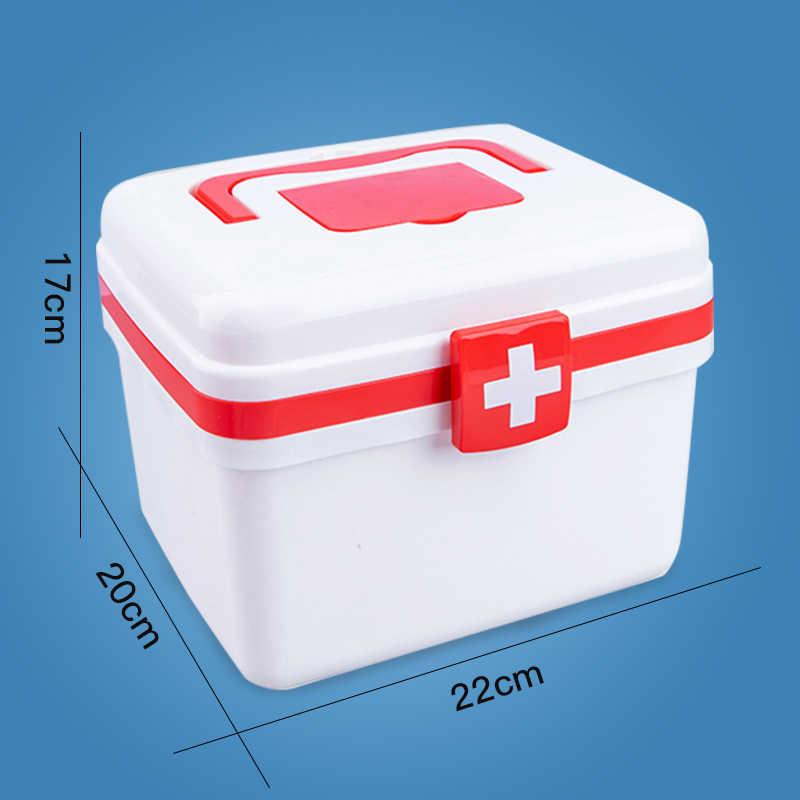 Kits de médicos para niños, juguetes de simulación, conjunto médico para niños y niñas, juego de rol médico para enfermera, termómetro, juguetes para niños y niñas, casa de juego