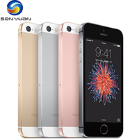 Apple iPhone SE Original Unlocked Mobile Phone 16/64GB ROM 2G RAM 4G LTE Touch ID WIFI GPS Dual Core 4.0'' 12MP iOS CellPhone 1