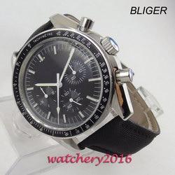 Relogio Masculino męskie zegarki Top marka luksusowe opakowanie ze stali nierdzewnej luksusowe mężczyźni wojskowy szklany zegarek na rękę automatyczny zegarek w Zegarki mechaniczne od Zegarki na