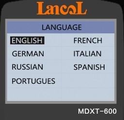 Image 4 - Lancol MDXT600 12 فولت سيارة جهاز اختبار بطارية TFT LCD شاشة 40 2000 CCA السيارات المولد تستر الرقمية السيارات مُحلل بطارية