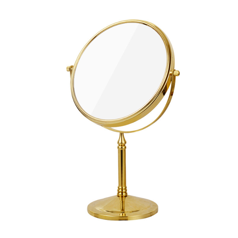 Espelho de mesa vaidade europeu portátil espelho
