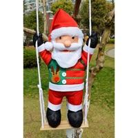 Navidad Santa Claus Tree Decorations Natal Adorno Merry Christmas Ornaments Decoracion Christmas Pendant Xmas Decor Babbo Natale