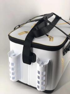 Image 3 - 2018 New DAIWA DAWA Bait Bucket Light Outdoor Multi functional Bait Box Bait Bag Portable Outdoor Fishing Pail 40CM 45CM