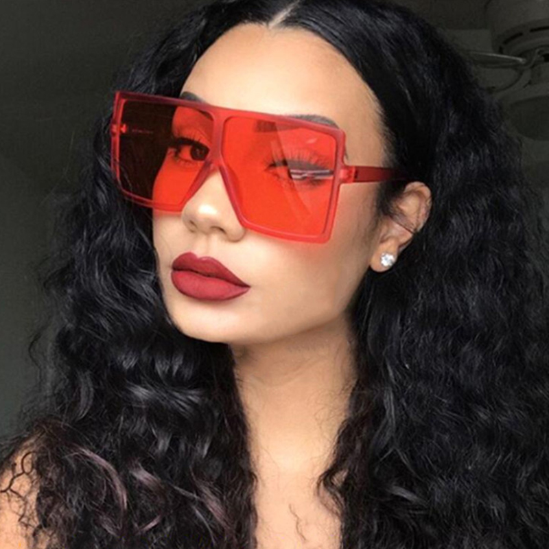 KeiKeSweet Роскошные Дизайнерские Квадратные Солнцезащитные очки женские большие винтажные зеркальные солнцезащитные очки с защитой от ультра...
