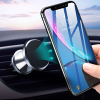 GETIHU Magnetic Car Phone Holder Air Vent Clip Mount Support GPS For iPhone 11 Pro X Max Xiaomi Magnet Mobile Cell Stand In Car