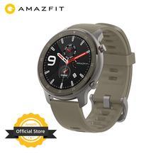Wersja globalna Amazfit GTR 47mm inteligentny zegarek 5ATM nowy Smartwatch 24 dni baterii sterowanie muzyką dla Android IOS telefon