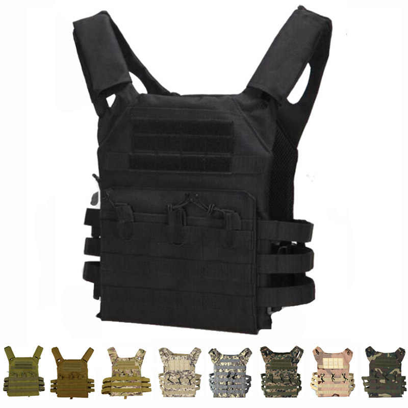 Tactische Body Armor Jpc Molle Plate Carrier Vest Militaire Uitrusting Leger Jacht Vest Outdoor Paintball Cs Oorlog Spel Airsoft Vest
