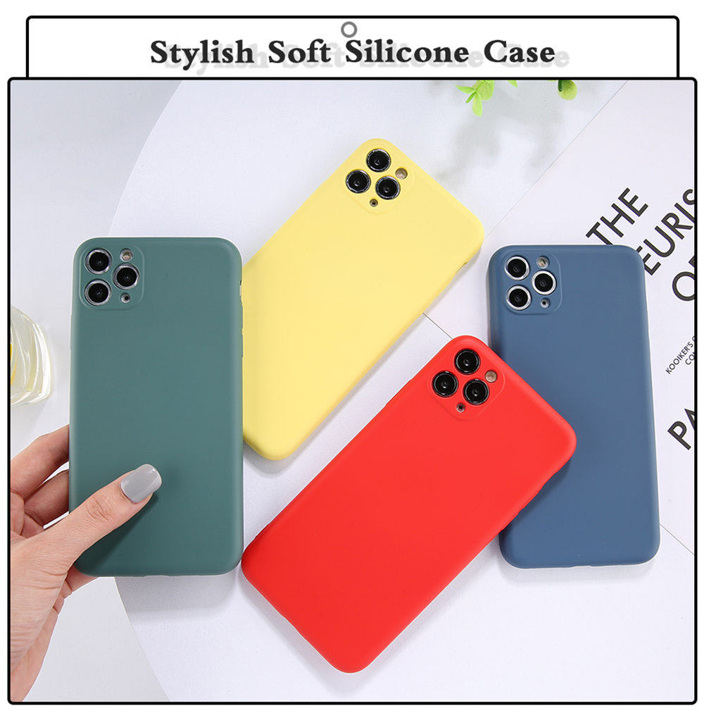 Candy Color Phone Case And Protective Shell Back Cover For Mobile Phones 9