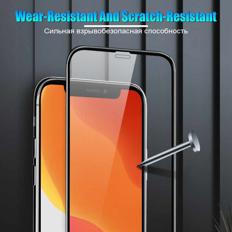 5000D полное покрытие экрана протектор стекло для iPhone 11 Pro X XS Max XR SE 2020 закаленное стекло для iPhone 10 8 7 6 6s Plus стекло