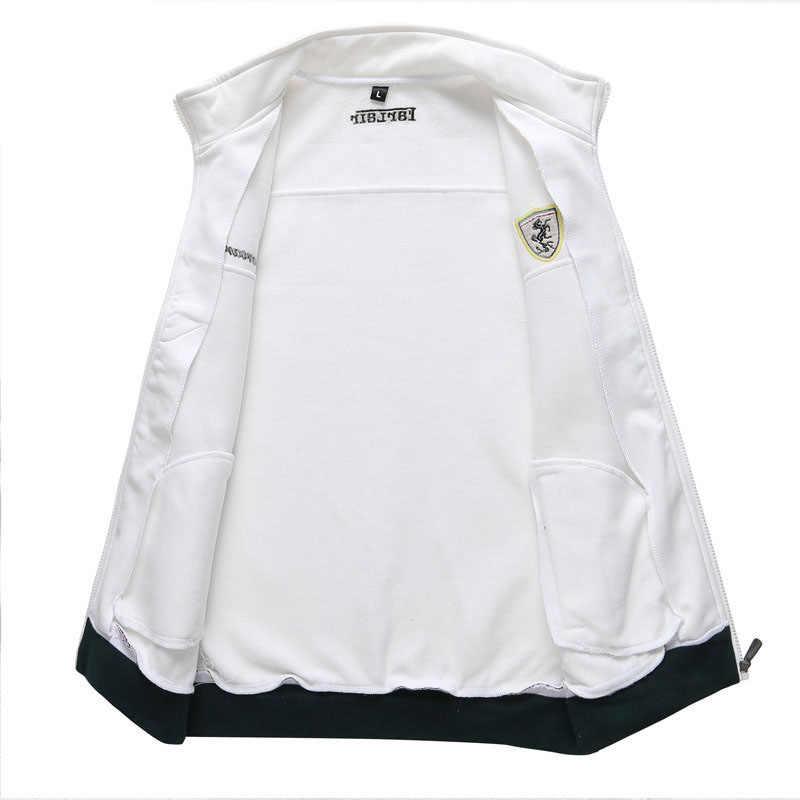 2020 편지 패턴 전체 스웨터 정장 디자이너 가을 패션 인쇄 슬림 지방 야구 저지 남성 Sportwear 레저 정장
