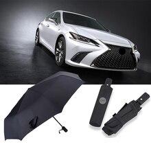 Automatic Business Umbrella Fashion Gentleman Sun Rain Car Portable Umbrella For Lexus GX LX570 Es300h UX300e LS UX NX UX RX