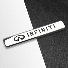 3D Metalen Sticker Auto Styling Sport Paraplu Vip Badge Decal Body Fender Decoratie Voor Infiniti FX35 Q50 Q30 Esq QX50 QX60 QX70