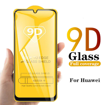 9D Curved Tempered Glass For Huawei Nova 5 5T 5i Pro Nova 4 4E 3 Lite 3i 3E 2i 2 Lite Full Coverage Screen Protector Film 100Pcs
