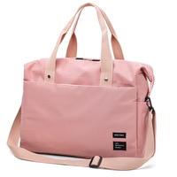 S.IKRR Neue Reisetasche Oxford Duffle Tasche Tragen Auf Gepäck Taschen Frauen Wasserdicht Mode Sac Wochenende Große Handtaschen Veranstalter