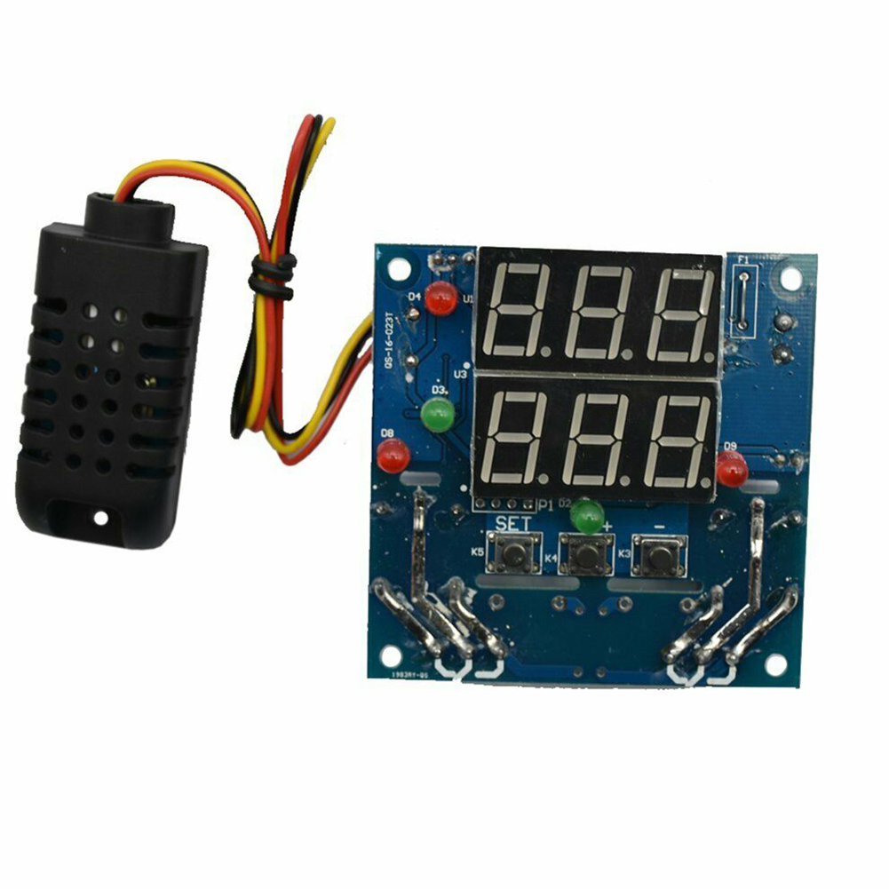 12V Intelligent Temperature Humidity Controller Relay Thermostat Module AC/DC NC99