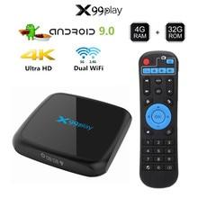 R3 Smart Tv Box Android 9.0 Set Top Box