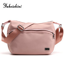 Pink women shoulder bag lady crossbody bags luxury handbags women bags designe nylon sac a main femme traveling bag bolso mujer недорого