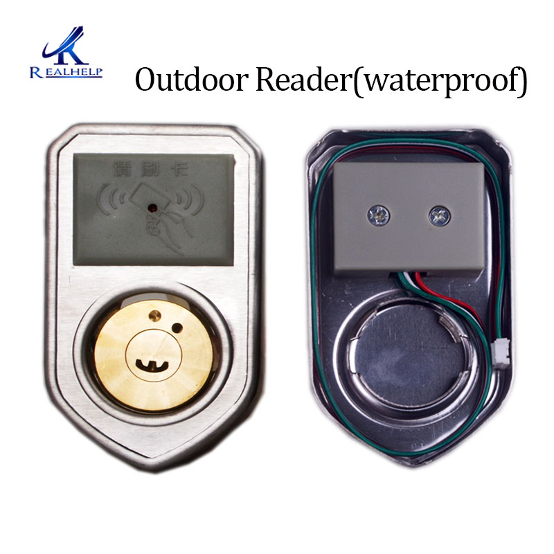 Image 4 - Electronic RFID Door lock Wireless Electric lock for Metal Electric Door Lock 125KHZ RFID Card Lock Keyless Motor door lock-in Electric Lock from Security & Protection