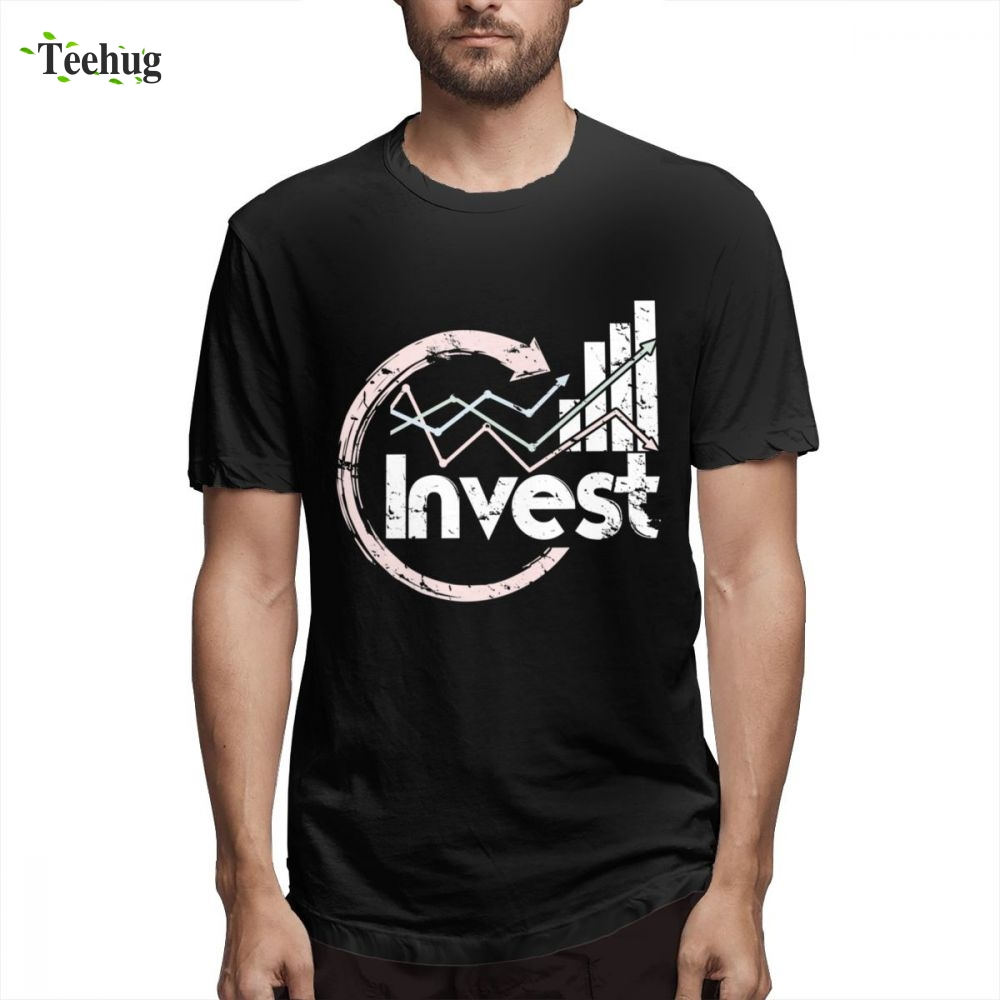 Leisure Invest Stock T Shirt Male 2019 Day Trade t shirt New Unique Design For Man Quality Cotton Top Tees image