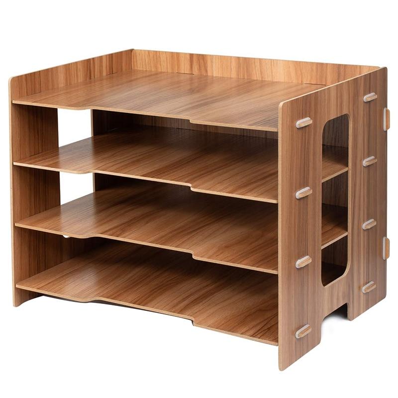 File Sorter A4 Document Desk Tidy Organizer Storage Rack Tray Holder Office Stationery Supplies