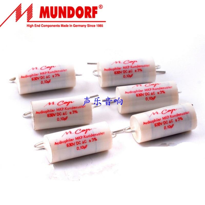 2pcs Origional Germany Mundorf Mcap 0.1UF 0.22UF 0.33UF 0.47UF 0.68UF 630V M-CAP Coupling Capacitor