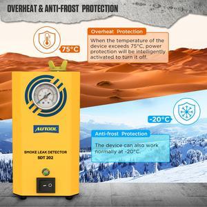 Image 5 - AUTOOL – détecteur de fuite de fumée Automobile SDT202, Original, générateur de fumée pour voiture