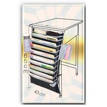 Organizer Book-Storage Multi-Pocket Desk Hanging-Bag Table Oxford-Cloth Water-Bottle