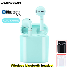 Bluetooth 5.0 イヤホン TWS ワイヤレスヘッドフォン Blutooth のイヤホンヘッドホンイヤゲーミングヘッドセット電話 PK Airdots