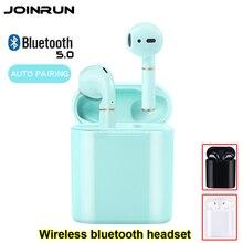 Bluetooth 5.0 kulaklık TWS kablosuz kulaklıklar Bluetooth kulaklık kulaklık sporcu kulaklığı oyun kulaklığı telefon PK Airdots