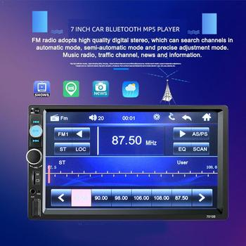 Universal 2 din Car Radio 7 Autoradio Multimedia Player Auto Stereo Player Bluetooth Car audio 2DIN Screen Touch Car MP5 S E7Q7 image