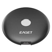 EAGET FM1 Fingerprint Verschlüsselt Mobile SSD, home Office Typ-C 3,1 Interface High-Speed Transmission Mobile Festplatte (512GB)