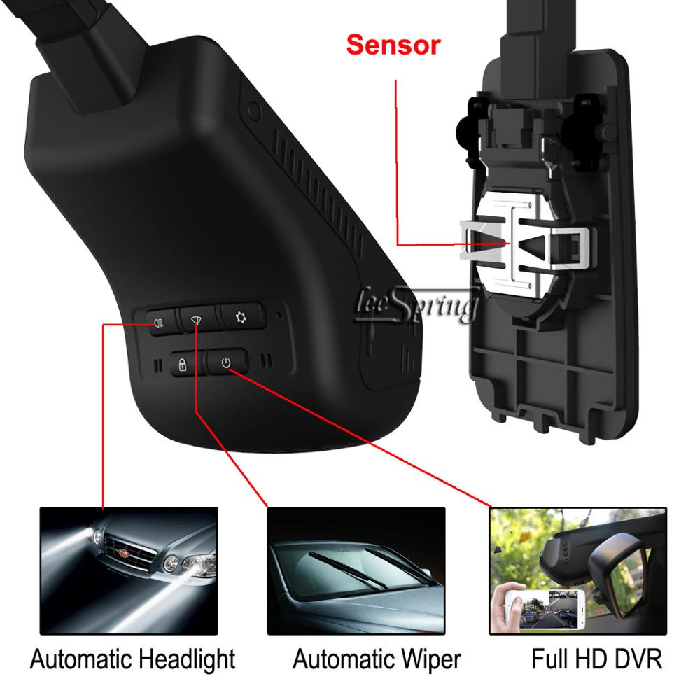 FULL HD <font><b>Car</b></font> <font><b>DVR</b></font> smart wiper Auto headlight sensor for <font><b>FORD</b></font> Escort(2017) 1.5 image
